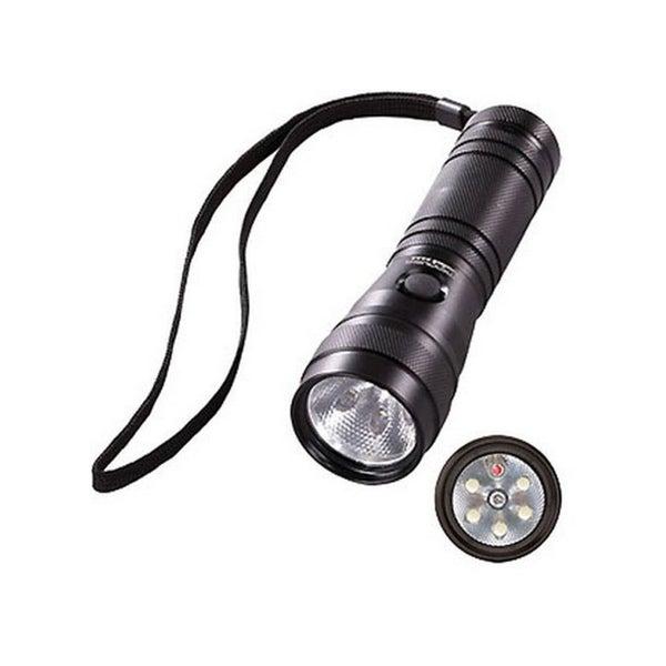 Task-Light Twin Task LED Flashlight w/Laser