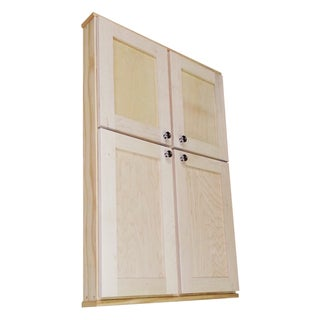 Shaker Series 42-inch Double Door On the Wall Cabinet