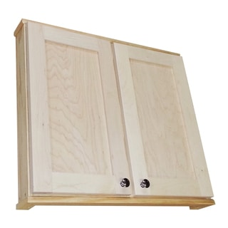 Shaker Series 30-inch Double Door On the Wall 3.5-inch Deep Cabinet