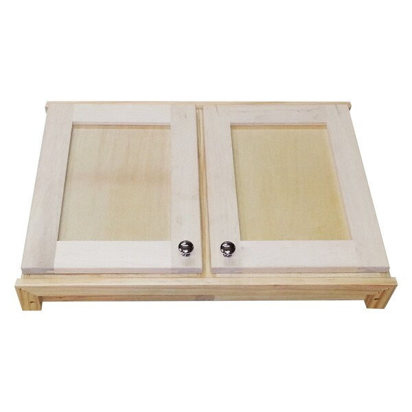 Shaker Series 18 Inch Double Door On The Wall 2 5 Deep Cabinet Free Shipping Today 8230220