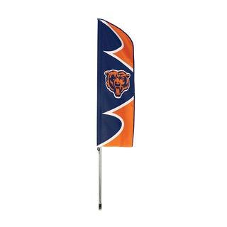 Chicago Bears Flag/ Pole