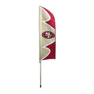 San Francisco 49ers Flag/ Pole