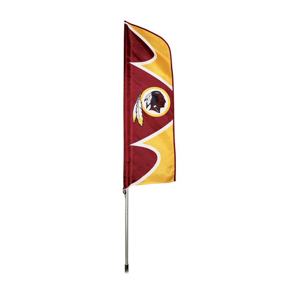 Party Animal Washington Redskins Flag/ Pole, Yellow