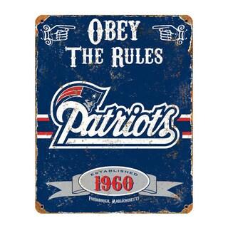 New England Patriots Vintage Sign