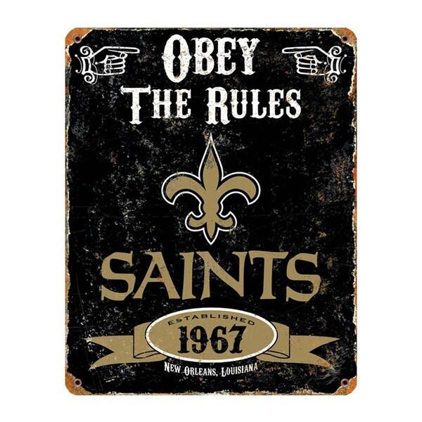 New Orleans Saints Vintage Sign