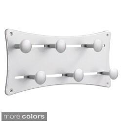 Safco Adjustable Coat Wall Rack (Set of 6)
