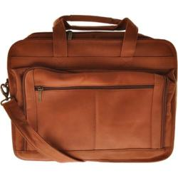 Millennium Leather Briefcase for Oversized Laptops VN Tan Vaqueta Nappa