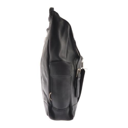 Thumbnail Millennium Leather Vaqueta Backpack Black Napa