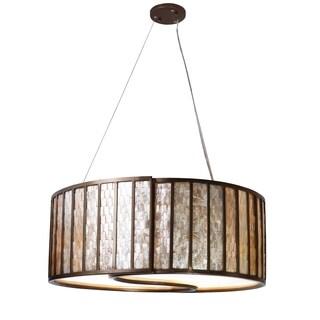 Varaluz Affinity 4-light New Bronze Pendant