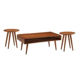 Svenska 3pc Occasional Table Set, Zebra Series