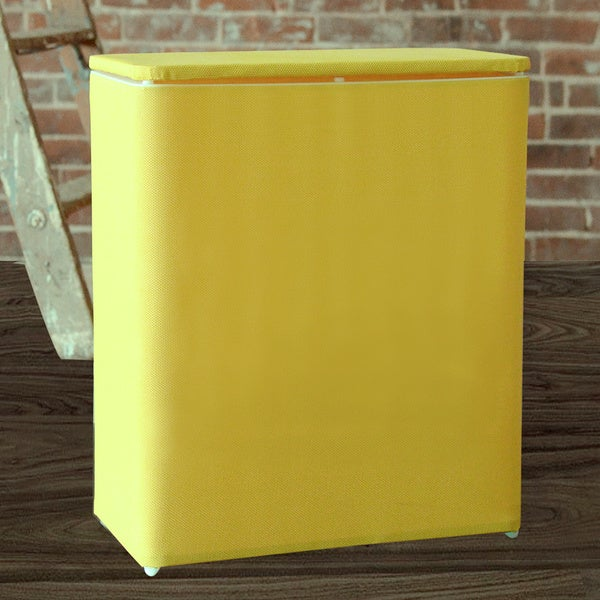 1530 Lamont Home Brights Upright Hamper Daffodil