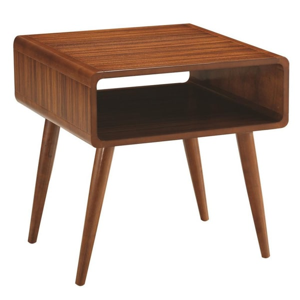 Alborg End Table, Zebra Series