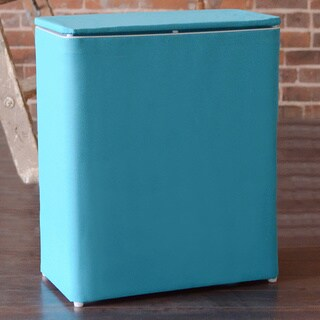 1530 Lamont Home Brights Upright Hamper Peacock