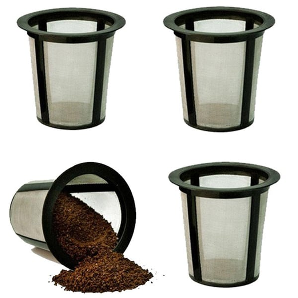 Medelco Universal Single-cup Replacement Coffee Filters- Set of 4 Filters