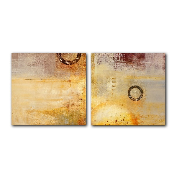 Ready2HangArt \'Abstract Spa\' 2-piece Gallery-wrapped Canvas Art Set ...