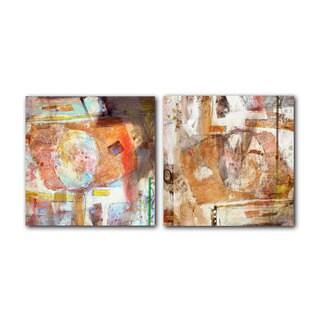 Ready2HangArt 'Abstract Spa' 2-piece Canvas Art