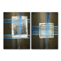 Ready2HangArt 'Abstract Spa' 2-piece Gallery-wrapped Canvas Art Set