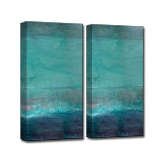 Ready2HangArt 'Abstract Spa' 2-Pc Canvas Wall Art Set