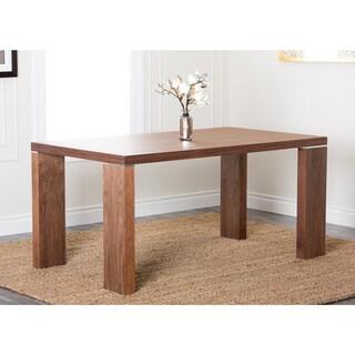 ABBYSON LIVING Valerie Rectangle Walnut Dining Table