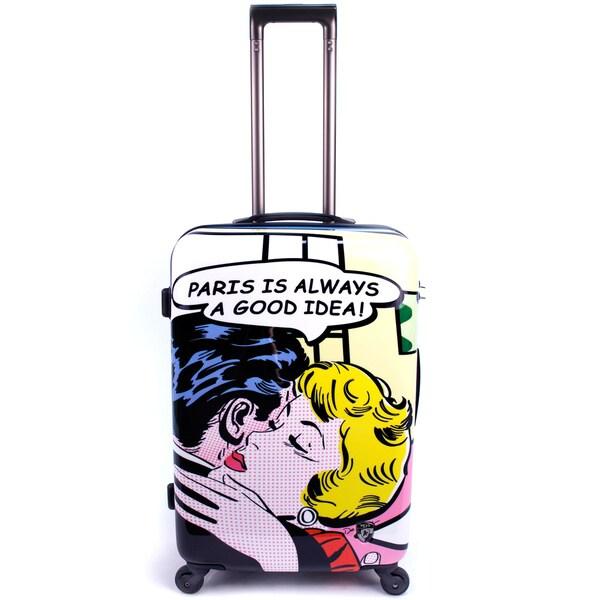 Heys De La Nuez Collection Material Girls 26-inch Hardside Spinner Upright Suitcase