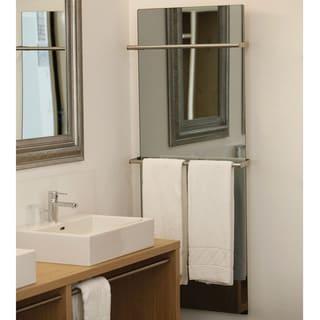 """WarmlyYours Lava Glass Mirror 0500W, 35"""" X 25"""", 120V"""