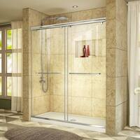 DreamLine Charisma Bypass Sliding Shower Door and 36x60-in Shower Base