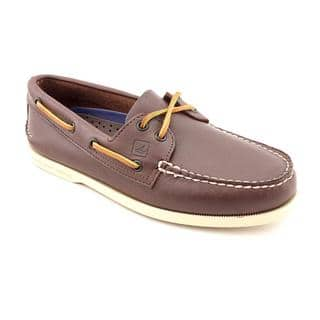 Sperry Top Sider Men's 'A/O 2-Eye' Leather Casual Shoes https://ak1.ostkcdn.com/images/products/8232035/P15561195.jpg?impolicy=medium