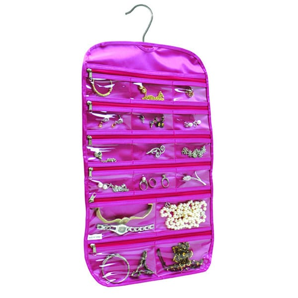 FloridaBrands 31Pocket Hanging Jewelry and Accessory Organizer with