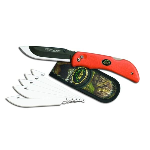 Outdoor Edge Razor Blaze Orange 6 Blade
