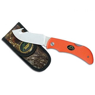 Outdoor Edge Grip-hook Blaze Orange Hunting Knife
