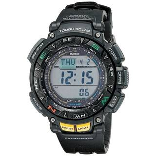 Casio Men's PAG240-1CR Pathfinder Triple Sensor Multi-function Sport Watch|https://ak1.ostkcdn.com/images/products/8232564/Casio-Mens-Pathfinder-Triple-Sensor-Multi-Function-Sport-Watch-P15561660.jpg?impolicy=medium