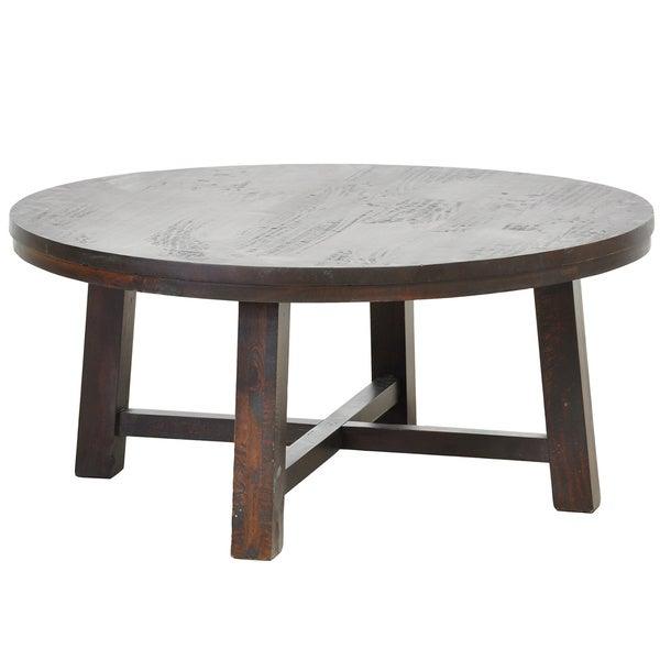 Kosas Home Dyson Round Coffee Table Free Shipping Today