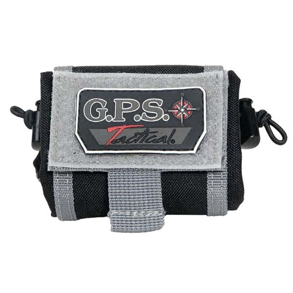 G.P.S. Tactical Belt Syle Brass Pouch Black GPS-T88BC