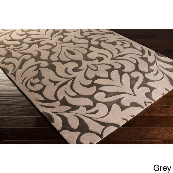 Candice Olson Modern Classics Hand-tufted Contemporary Floral Wool Rug (3'3 x 5'3)