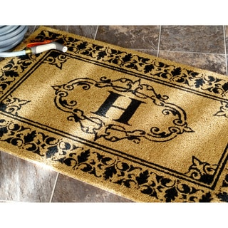 nuLOOM Estate Monogrammed Welcome Door Mat (2'6 x 4')