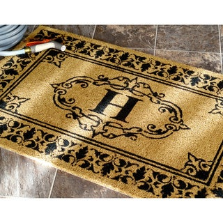 entry mat monogrammed front on large outside mats welcome double innovations for personalized great breathtaking design monogram astonishing door custom australia doormat furniture