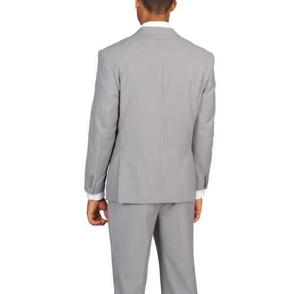 Caravelli Slim Men's Light Grey Suit - Free Shipping Today ...
