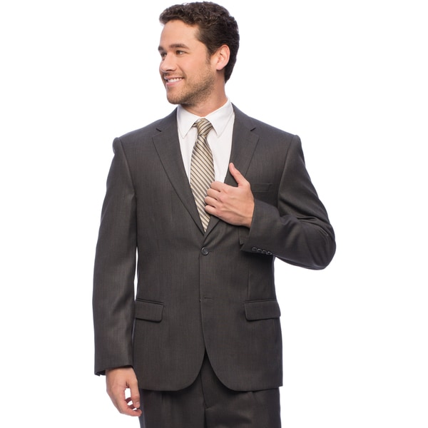 Caravelli Italy Men's Charcoal Suit