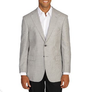 Prontomoda Italia Men's Houndstooth Blazer (More options available)
