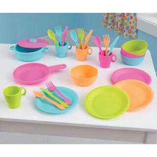 KidKraft 27 Piece Bright Cookware Set