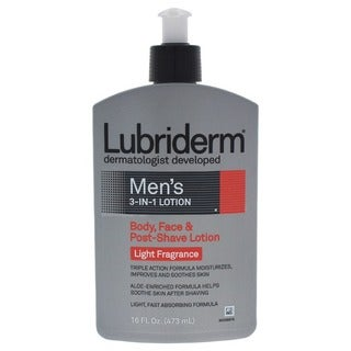 Lubriderm Men's 16-ounce 3-in-1 Body Lotion
