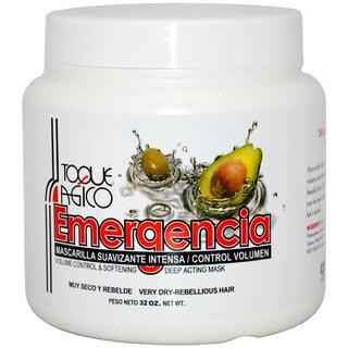 Toque Magico Emergencia Volume Control & Softening Deep Acting 32-ounce Hair Mask