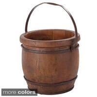 Wooden Barrel Decorative Bucket
