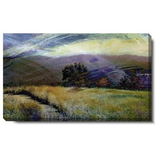 Studio Works Modern 'Sonoma Meadow' Gallery Wrapped Canvas Art