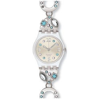 Swatch Women's Originals Silver Stainless-Steel Swiss Quartz Watch