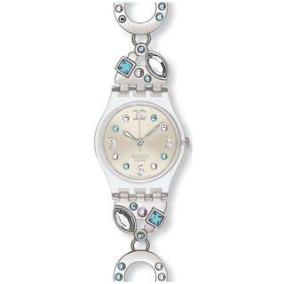 Swatch Women's Originals Silver Stainless-Steel Swiss Quartz Watch|https://ak1.ostkcdn.com/images/products/8233103/8233103/Swatch-Womens-Originals-Silver-Stainless-Steel-Swiss-Quartz-Watch-P15562094.jpg?impolicy=medium