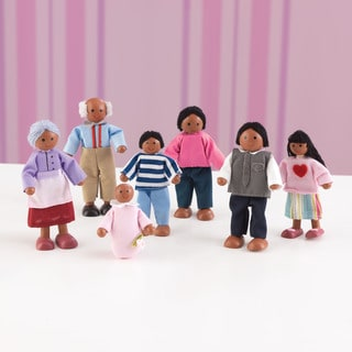 KidKraft African American Doll Family of Seven