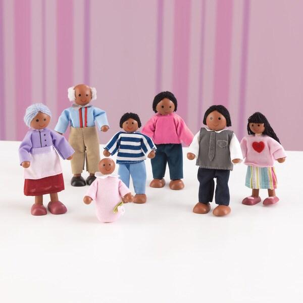 KidKraft African American Doll Family of Seven
