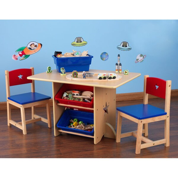 KidKraft Star Table and Chair Set  sc 1 st  Overstock & KidKraft Star Table and Chair Set - Free Shipping Today - Overstock ...