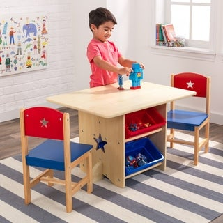 KidKraft Star Table and Chair Set - multi